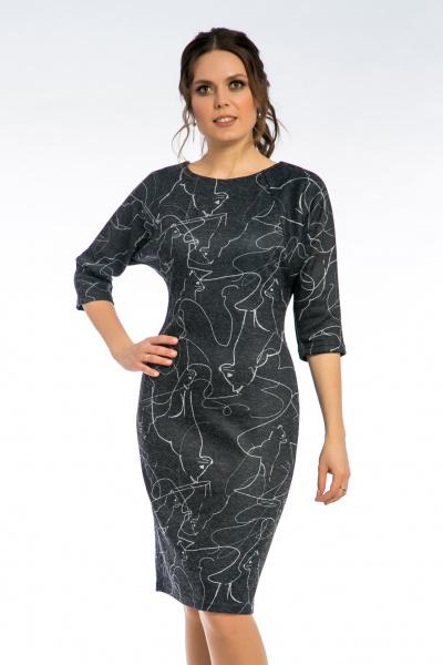 """Платье с рукавом """"бабочка"""", П-314/9"""