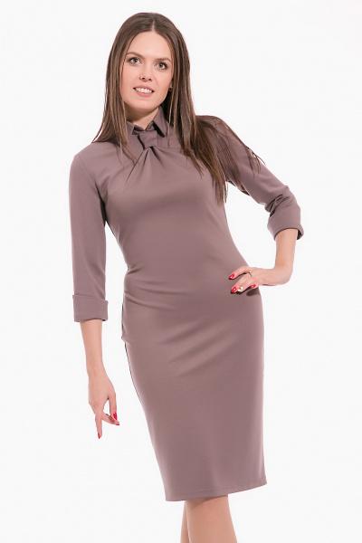 Платье с галстуком, П-435/7